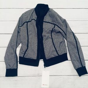 NWT Lululemon Reversible Bomber Jacket